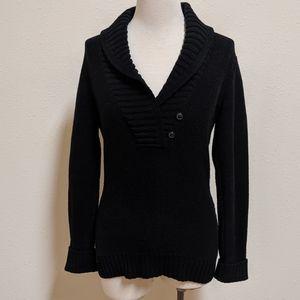 Ralph Lauren jeans co. Sweater v neck button small